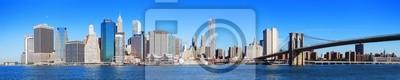 Obraz New York City Manhattan skyline panorama