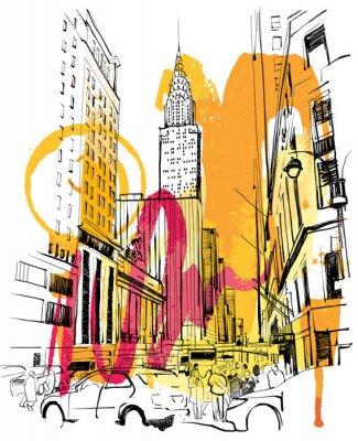 Obraz New York Sketch