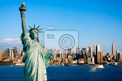 New York  statue de la Liberté