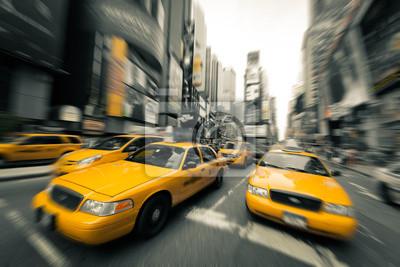 New York taksówki
