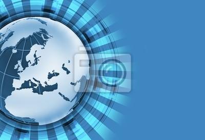 Niebieski Globalny Theme