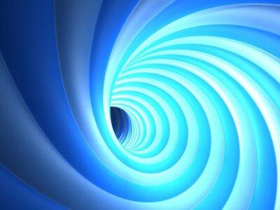 Obraz Niebieski Vortex