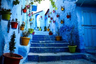 Obraz Niebieskie miasto Chefchaouen