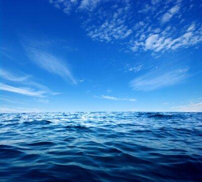 Obraz Niebieskie wody morskiej