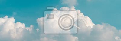 Obraz Niebo chmury panoramiczny tła