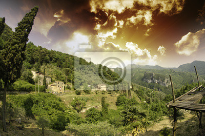 Niebo nad Toskanii w Casoli