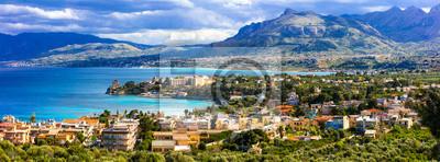 Niesamowita malownicza Sycylia - piękne nadmorskie miasteczko Santa Flavia. Włochy