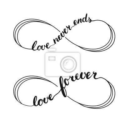 Nieskończoność Miłość Symbol Tatuaż Ze Znakiem Nieskończoności Obrazy Redro