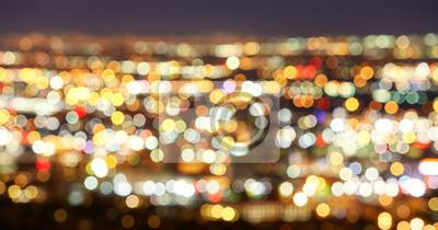 Niewyraźne światła miasta, abstrakcyjne tła miejskiego