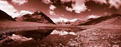 Obraz Niezwykły krajobraz górski