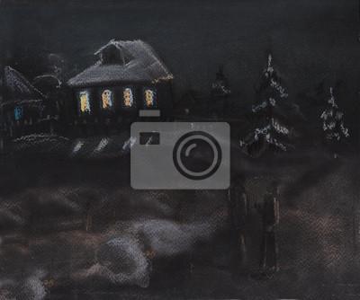 Obraz Noc w Boże Narodzenie