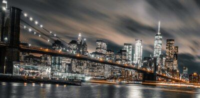 Obraz Nocna ekspozycja na Brooklynie