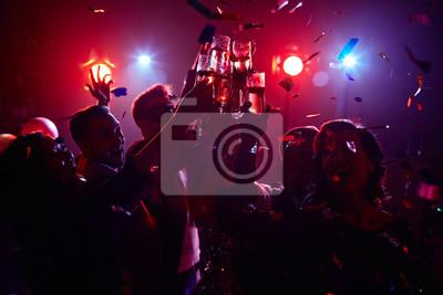 Obraz Nocna impreza