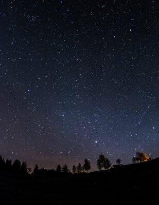 Obraz Nocne niebo nad Ostallgaeu