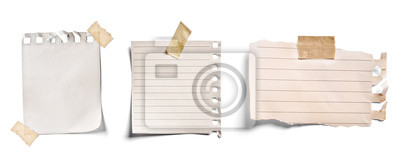 Obraz note paper blank sign tag label
