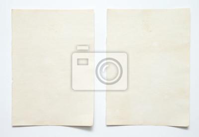 Obraz note paper on white background