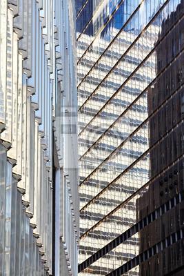 Nowoczesna architektura miejskich abstrakcyjne tło, Nowy Jork.