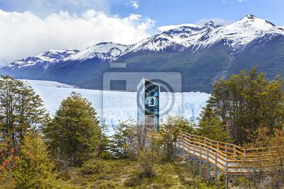 Nowoczesna winda w Lodowiec Perito Moreno, Narodowy Los Glaciares