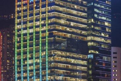 Obraz Nowoczesne budynki biurowe w Hong Kong City