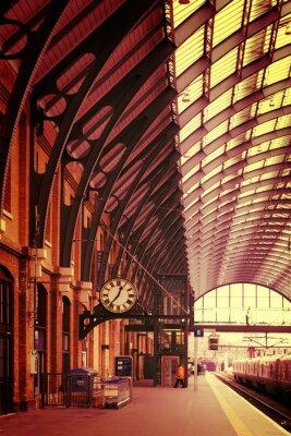 Obraz Nowoczesny budynek stacji Kings Cross London