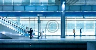 Nowoczesny dworzec kolejowy