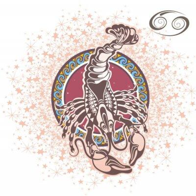 Obraz Nowotwór. znak zodiaku