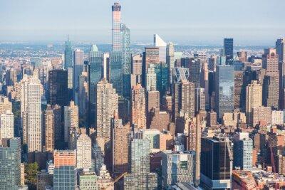 Obraz Nowy Jork Midtown Lotnicze