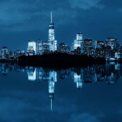Obraz Nowy Jork nocy