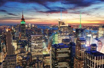 Obraz Nowy Jork słońca