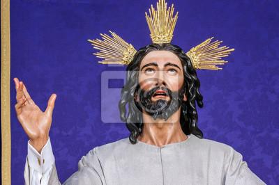 Obraz Jezusa Chrystusa w Wielki Tydzień w Sewilli. Bractwo Wieczerzy