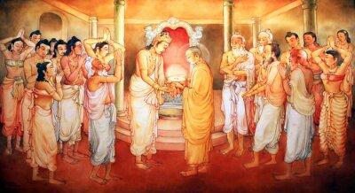 Obraz Obraz w świątyni