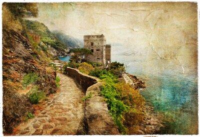 Obraz obrazowym Włochy - artystyczny obraz