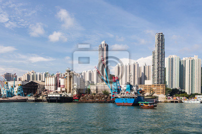 Obudowa Hong Kongu i stoczni