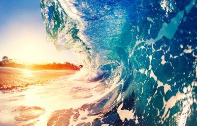 Obraz Oceaen Wave na Sunrise