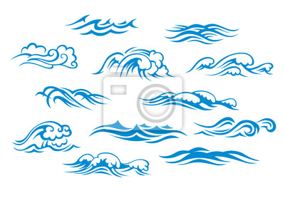 Obraz Ocean i fale morskie