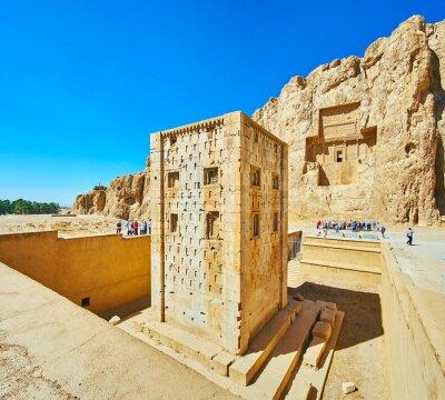 Odkryj Naqsh-e Rustam Necropolis, Iran