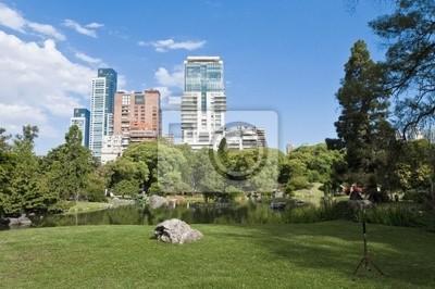 Obraz Ogród Japoński w Palermo okolicy w Buenos Aires