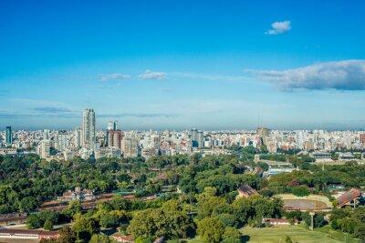 ogrody Palermo w Buenos Aires w Argentynie.