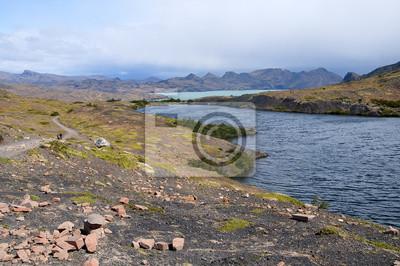 okolice Jeziora Nordenskjöld w Parku Narodowym Torres del Paine