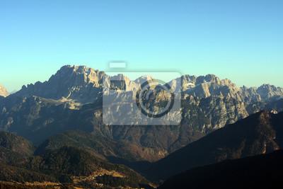 Około Marmolada, Dolomiti Superski, Włoch, Tre Valli. Moena-Lusia, Passo S. Pellegrino, Falcade.