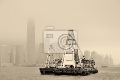 Okręt i Hong Kongu