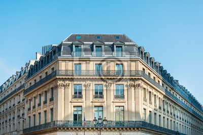 old-fashioned building in paris ,Europe