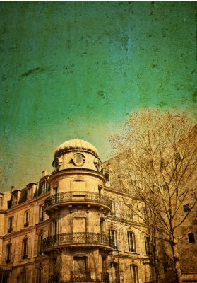 Obraz old-fashioned paris