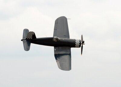Obraz Old navy samolot figher