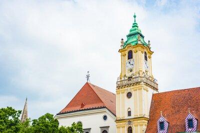 Old Town Hall in Bratislava, Slovakia.