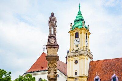 Obraz Old Town Hall in Bratislava, Slovakia.