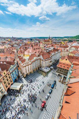 Obraz Old Town Square in Prague, Czech Republic.