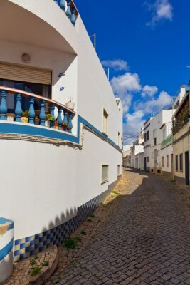 Old traditional portuguese street