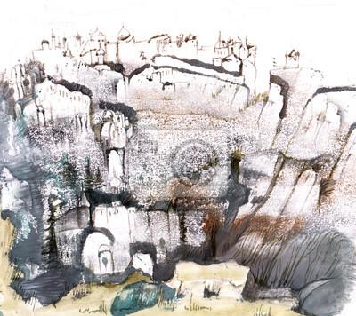 Obraz Old walls