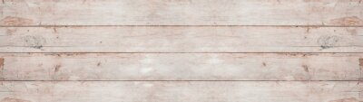 Obraz old white painted exfoliate rustic bright light wooden texture - wood background banner panorama long shabby